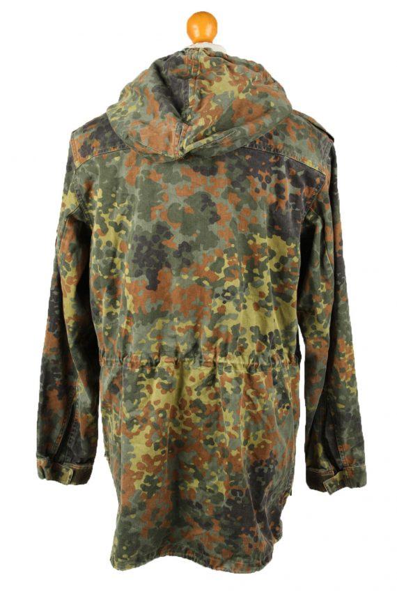 Vintage Mens German Army Jacket Coat 80s 7 Olive -C2091-145397