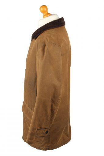 Vintage MC Neal Mens Wax Coat Jacket 80s 40 Brown -C2096-145416