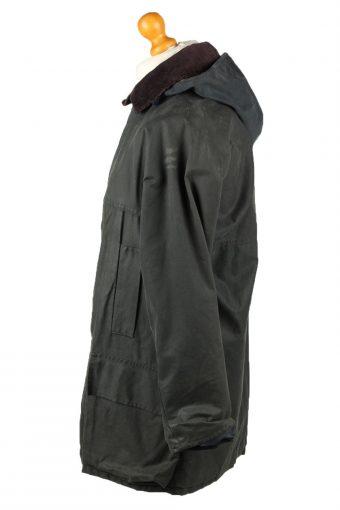 Vintage Anartex Mens Wax Coat Jacket 80s M Black -C2101-145436