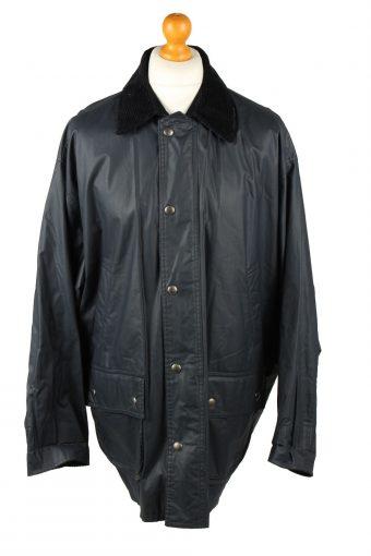 Vintage Gleengreen TCM Mens Waterproof Coat Jacket 80s XL Navy