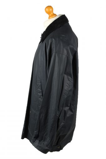 Vintage Gleengreen TCM Mens Waterproof Coat Jacket 80s XL Navy -C2103-145444