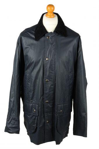 Vintage Gleengreen TCM Mens Waterproof Coat Jacket 80s L Navy