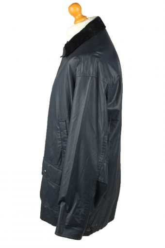 Vintage Gleengreen TCM Mens Waterproof Coat Jacket 80s L Navy -C2104-145448