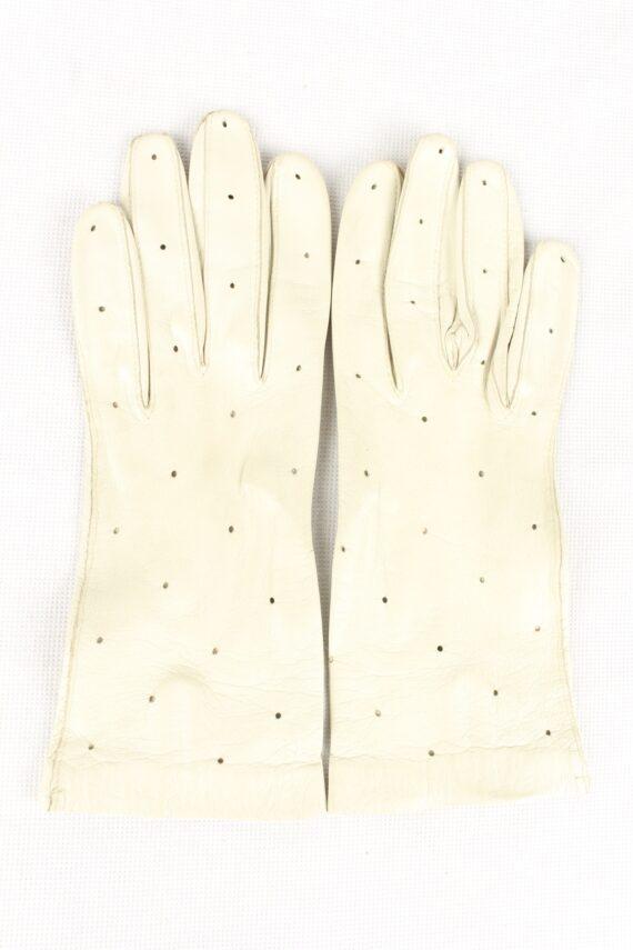 Vintage Womens Gloves 90s White G198-0