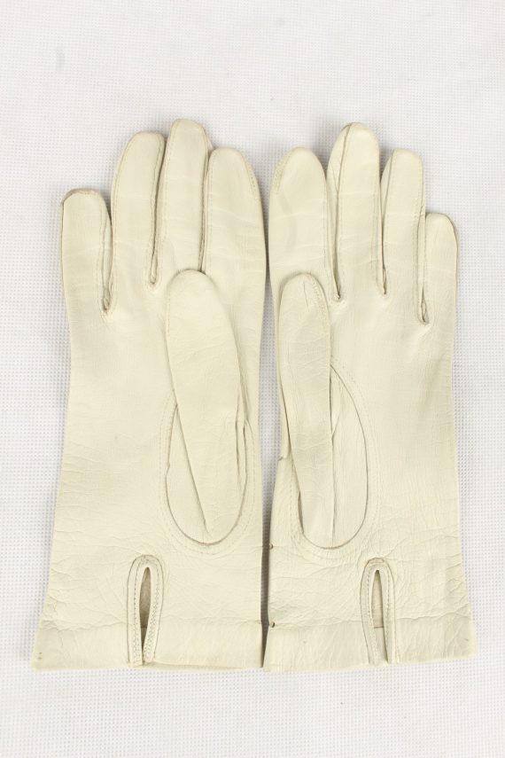 Vintage Womens Gloves 90s White G198-146810