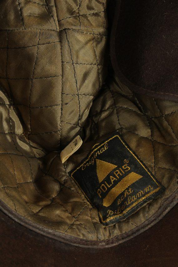 Vintage Unisex Russian Style Winter Hat 90s Brown HAT1522-145374
