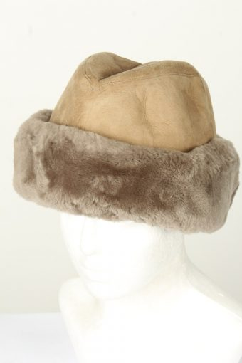 Vintage Unisex Russian Style Winter Leather Hat