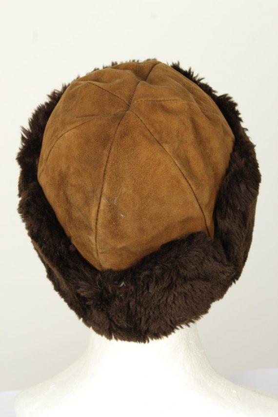 Vintage Unisex Russian Style Winter Hat 90s Brown HAT1542-145676