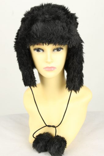 Vintage Womens Canadian Style Winter Hat