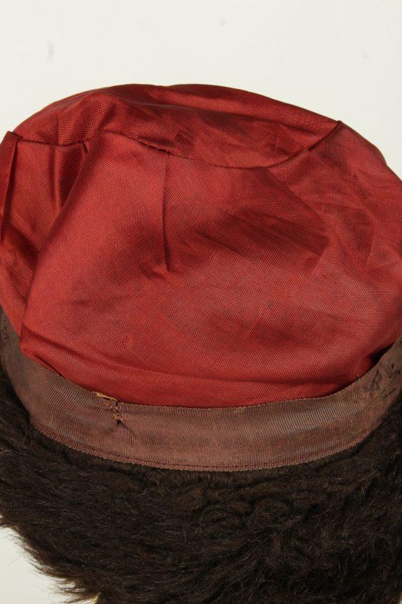 Vintage Womens European Style Winter Hat 90s Brown HAT1611-145990