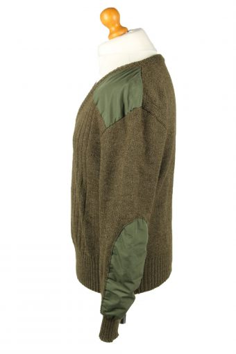 Vintage Army Military Combat Style Jumper Olive -IL2062-144276