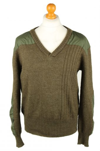 Army Military Combat Style Jumper Olive M