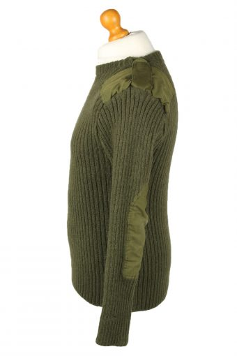 Vintage Army Military Combat Style Jumper 100 cm Olive -IL2063-144272