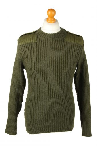 Army Military Combat Style Jumper Olive S