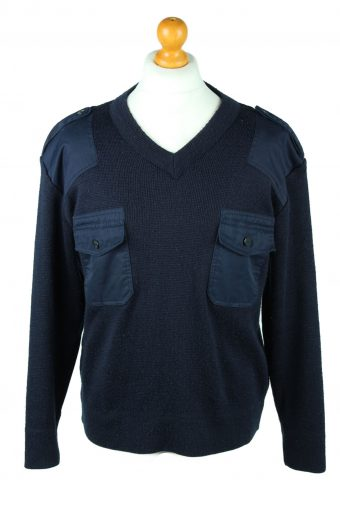 Army Military Combat Style Jumper Navy M