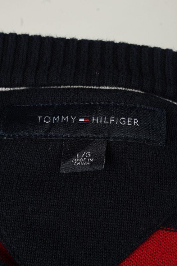 Vintage Tommy Hilfiger Mens Crew Neck Jumper L Navy -IL2088-144618