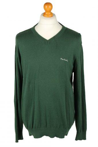 Pierre Cardin Mens V Neck Jumper Green L