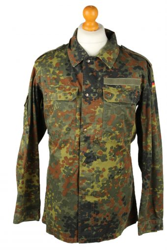 German Army Shirt Kohler GMBH Flecktarn Khaki M