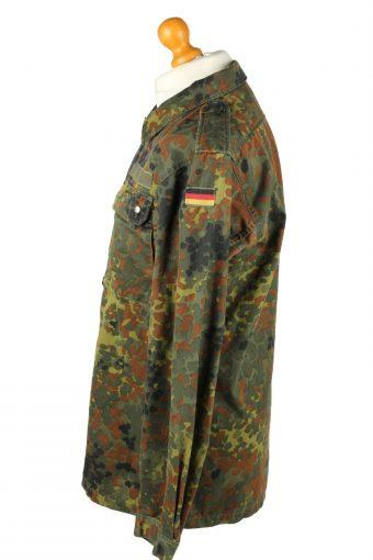 Vintage Kohler GMBH Flecktarn German Army Shirt 90s 13 Khaki SH4024-144054