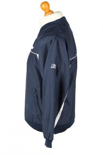 Vintage Reebok NFL Football Jacket Windbreaker L Navy -SW2637-143796