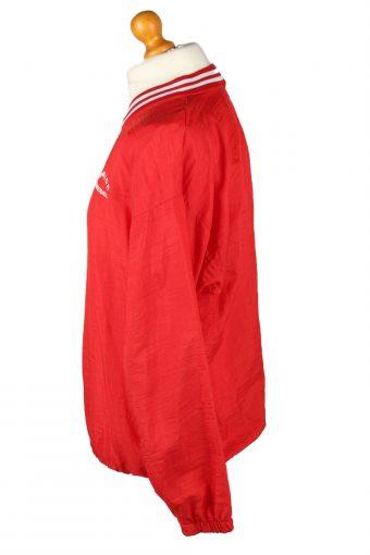 Vintage Augusto Basketball Jacket Windbreaker 90s M Red -SW2638-143800