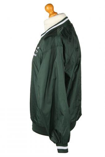 Vintage SportTek Baseball Jacket Windbreaker 90s S Green -SW2639-143804