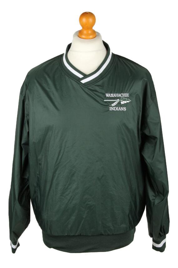 Vintage SportTek Baseball Jacket Windbreaker 90s S Green -SW2639-0