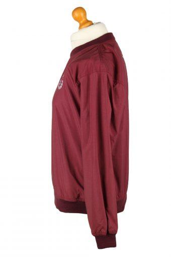 Vintage Cotuit Kettleers Baseball Jacket Windbreaker L Bordeaux -SW2641-143812