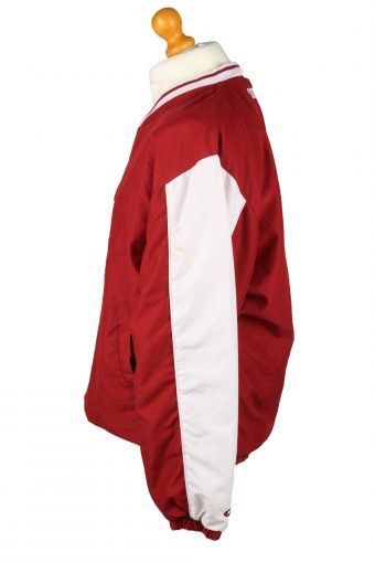 Vintage Sooners Football Jacket Windbreaker 90s L Red -SW2643-143740