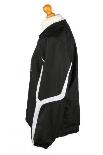 Vintage Holloway Baseball V Neck Jacket Windbreaker 90s M Black -SW2650-143768