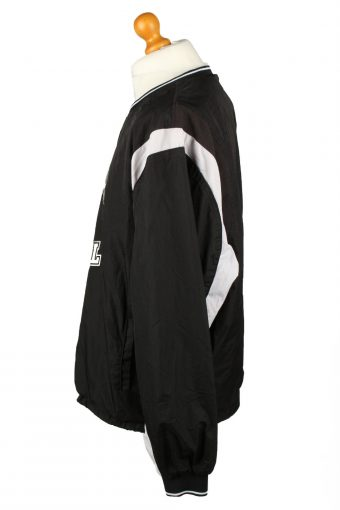 Vintage Brandon Guyer Baseball Jacket 90s XXL Black -SW2653-143780