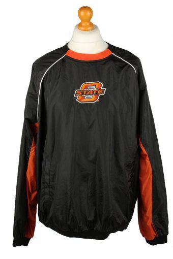 Oklahoma State Baseball Jacket USA College Black XL