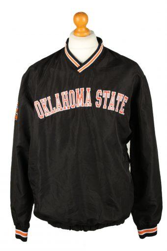 Oklahoma State Baseball Jacket Windbreaker Black M