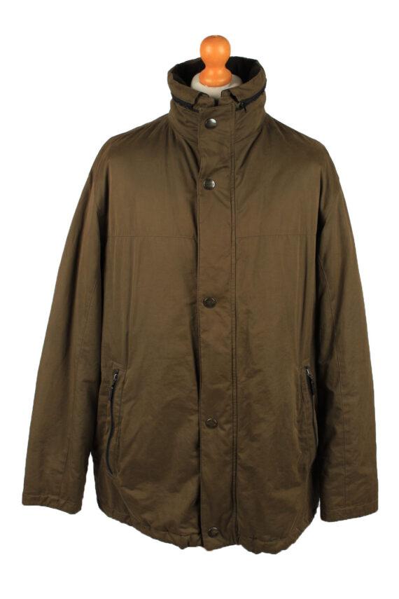 Vintage Pierre Cardin Mens Jacket Coat 90s 54 Brown -C2149-0