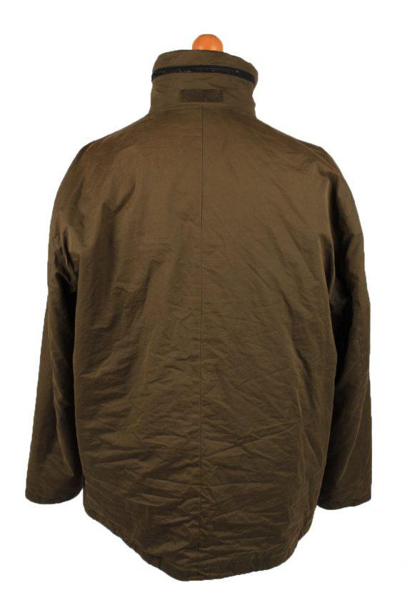 Vintage Pierre Cardin Mens Jacket Coat 90s 54 Brown -C2149-147766