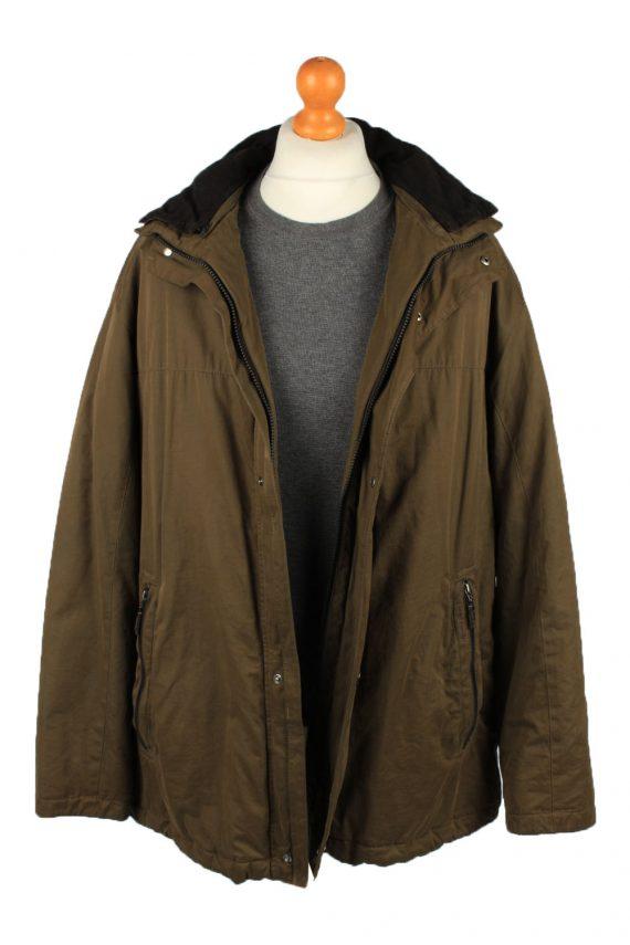 Vintage Pierre Cardin Mens Jacket Coat 90s 54 Brown -C2149-147767