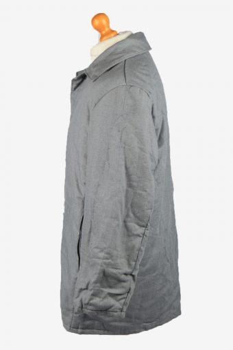 Vintage VEB Wattana Mens Work Jacket Parka 80s 52 Grey -C2231-148444