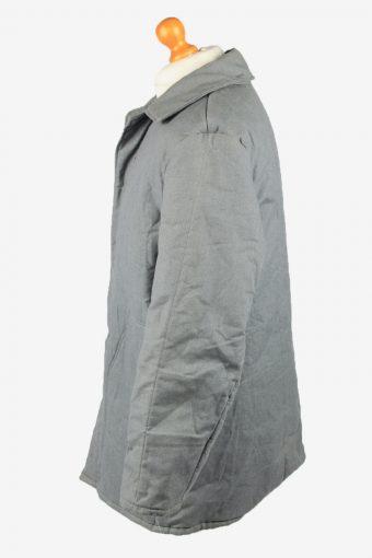 Vintage VEB Wattana Mens Work Jacket Parka 80s 52 Grey -C2233-148454