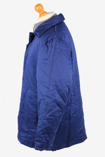 Vintage Mens Work Jacket Parka 80s 52 Blue -C2239-148484