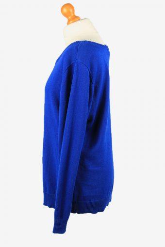 Christmas Jumper Vintage New Directions Womens Penguin XL Blue -IL2289-149866