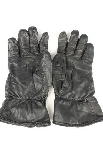 Vintage Mens Motorcycle Gloves 80s Black G288-147410