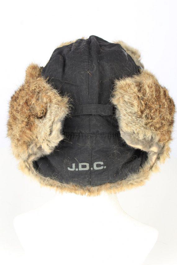 Vintage J.D.C. Russian Hat Ushanka 90s Brown HAT1652-147466