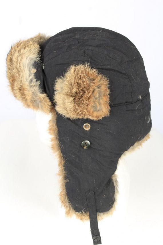 Vintage J.D.C. Russian Hat Ushanka 90s Brown HAT1652-147467
