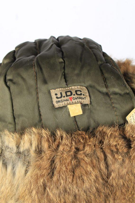Vintage J.D.C. Russian Hat Ushanka 90s Brown HAT1652-147468