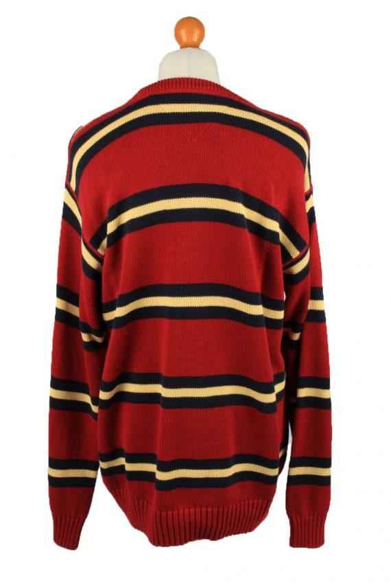 Vintage Tommy Hilfiger Mens Jumper Pullover 90s XXL Red -IL2126-149546