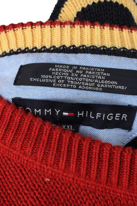 Vintage Tommy Hilfiger Mens Jumper Pullover 90s XXL Red -IL2126-149547