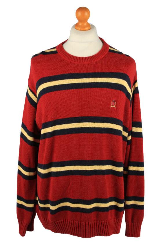Vintage Tommy Hilfiger Mens Jumper Pullover 90s XXL Red -IL2126-0
