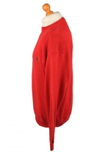 Vintage Tommy Hilfiger Mens Jumper Pullover 90s L Red -IL2127-149549