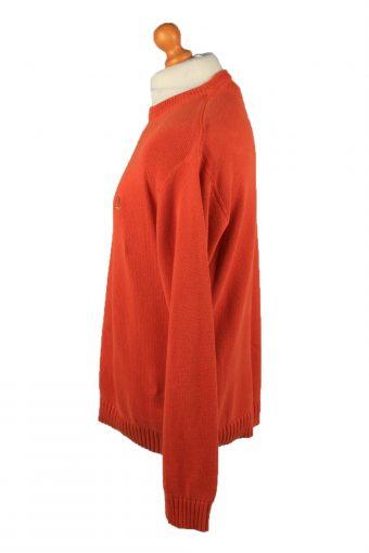 Vintage Tommy Hilfiger Mens Jumper Pullover 90s L Orange -IL2128-149553