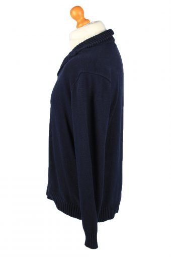 Vintage Polo Mens Jumper Pullover 90s M Navy -IL2155-148137